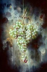 Uvas Verdes VI by J M Reyes -  sized 16x24 inches. Available from Whitewall Galleries